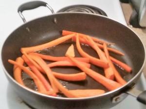 colorer les carottes