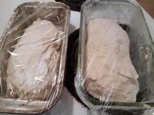 pâte dans moules
