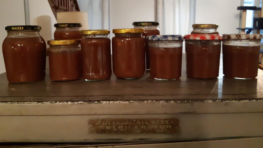 pots de crème de marrons